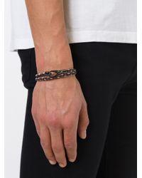 Tod's | Black 'my Colours' Bracelet for Men | Lyst