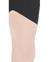 LNA - Black Active Division Cropped Leggings - Lyst