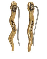 Lulu Frost - Metallic Gold-Tone Serpentine Ear Crawler Earrings - Lyst