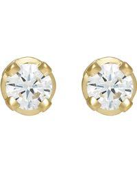 Hoorsenbuhs | Metallic White Diamond Studs Size Os | Lyst