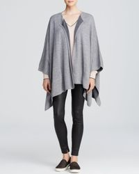 Vince Gray Cape - Double Face Merino Wool
