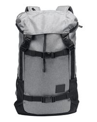 Nixon - Gray 'landlock' Backpack - Lyst