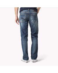Tommy Hilfiger Blue Rogar Straight Fit Jeans for men