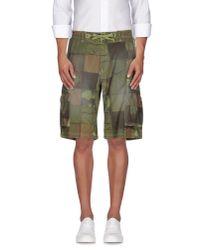 Franklin & Marshall - Multicolor Bermuda Shorts for Men - Lyst