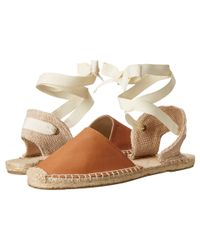 Soludos | Brown Classic Sandal Leather | Lyst