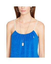 Polo Ralph Lauren | Blue French Terry Cover-up | Lyst