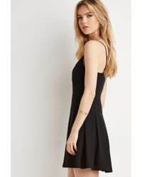 Forever 21 Black Box Pleat Cami Dress