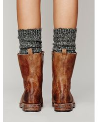 Free People Brown Fletch Lace Up Boot