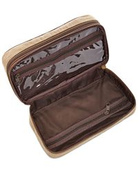 Fossil | Double-zip Natural Fabric Shave Kit for Men | Lyst