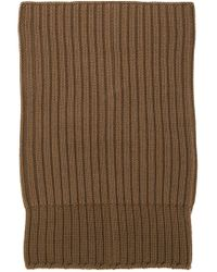 Rick Owens - Brown Draped Knit Beanie - Lyst