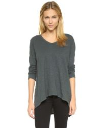 Wilt - Gray Slouchy Bf Tee - Lyst