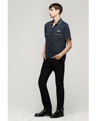 Rag & Bone - Gray Bowling Shirt for Men - Lyst