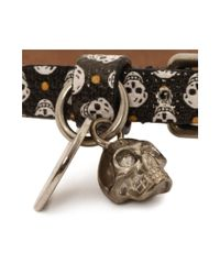 Alexander McQueen - Multicolor Single Wrap Skull Bracelet - Lyst