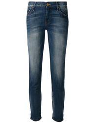 Mother - Blue Slouchy Boyfriend Jeans - Lyst