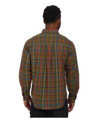 Woolrich - Brown Timberline Long Sleeve Shirt for Men - Lyst