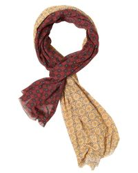 DSquared² Multicolor Printed Modal Jersey Scarf for men