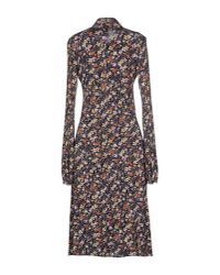 Roberta Scarpa - Blue Knee-length Dress - Lyst