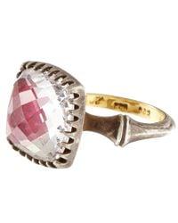 Larkspur & Hawk - Pink Topaz Sophia Ring - Lyst