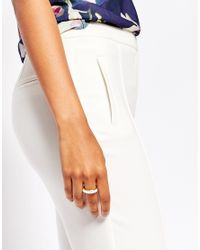 Ted Baker | Metallic Beaded Ring | Lyst