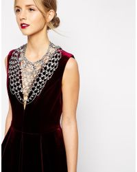 ALDO - Metallic Herade Wow Necklace - Lyst