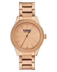 Versus | Metallic 'bayside' Bracelet Watch | Lyst