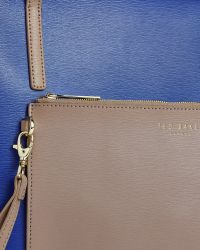 Ted Baker - Blue Colour Block Leather Shopper Bag - Lyst