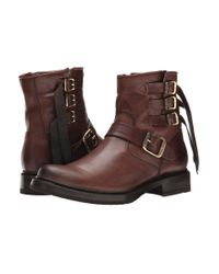 Frye | Brown Veronica Strap Short | Lyst