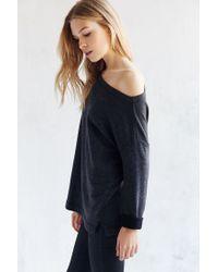 Truly Madly Deeply - Black Jennie Off-the-shoulder Sweatshirt - Lyst