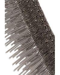 Fiona Paxton | Metallic Trina Gunmetaltone Chain Necklace | Lyst