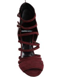 Pierre Hardy Red Strappy Sandal