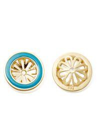 Astley Clarke - Blue Milky Aquamarine Earrings - Lyst