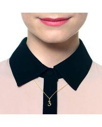 Lulu Frost - Metallic Code 14kt 5 Necklace - Lyst