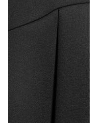 Just Cavalli Black Pleated Neoprene Skirt