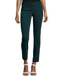 Theory - Black Treeca Cl. Twill Cropped Pants - Lyst
