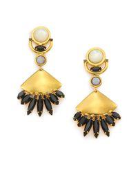 Lizzie Fortunato | Metallic 'Monte Alban' Earrings | Lyst