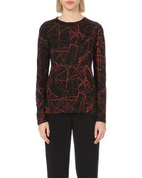 Proenza Schouler | Black Cotton-jersey Top - For Women | Lyst