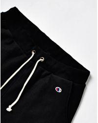 Champion   Reverse Weave 2.0 Rib Cuff Pants Black for Men   Lyst