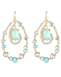Alexis Bittar | Blue Moonlight Orbiting Link Earring | Lyst