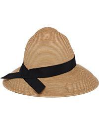 Jennifer Ouellette - Brown Tina Hat-Nude - Lyst