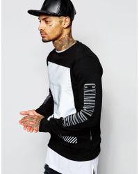 Criminal Damage | Black Led Sweatshirt for Men | Lyst