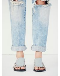 Free People | Gray Sol Sana + Womens Tessa Sandal | Lyst