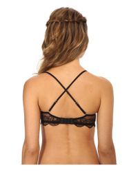Natori | Black Disclosure Scoop Contour Convertible W/ Band Extension | Lyst