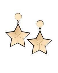 Yazbukey - Metallic Star Earrings - Lyst