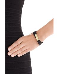Marc By Marc Jacobs | Wrap Around Leather Bracelet - Black | Lyst
