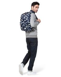 Herschel Supply Co. | Blue Heritage Backpack In Feather Print | Lyst