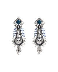 DANNIJO | Metallic Eli Earrings | Lyst