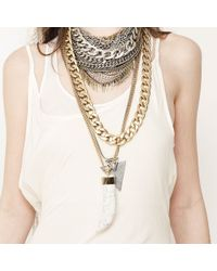 Jenny Bird | Metallic Shielded Necklace | Lyst