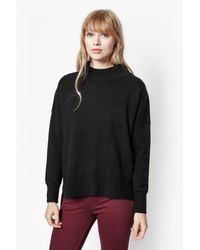 French Connection | Black Ziggy Vhari Jumper | Lyst