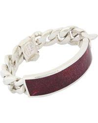 Ann Dexter-Jones | Purple Id Bracelet | Lyst