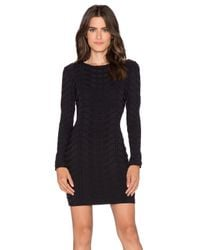 LaPina by David Helwani - Black Frankie Dress - Lyst